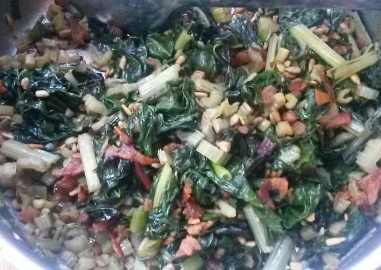 Recipe of Favorite Braised Wilted Chard