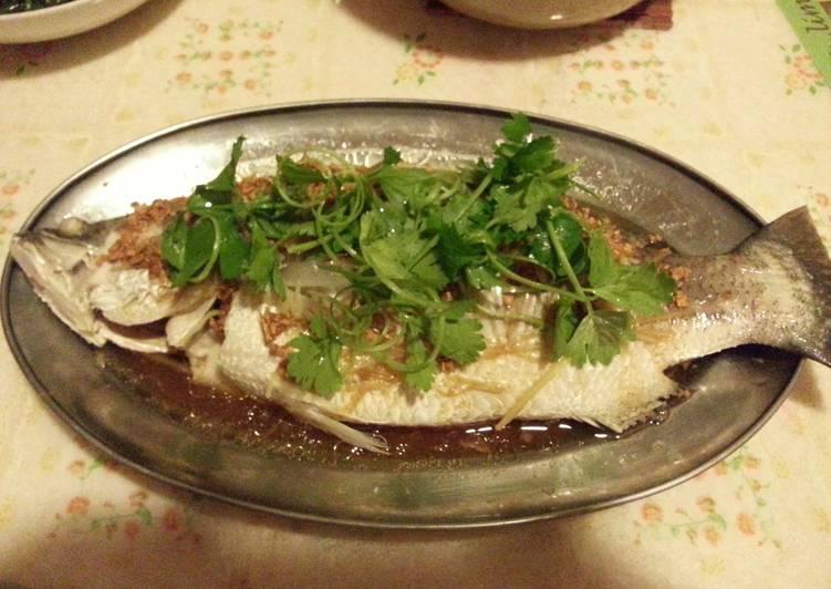 Steam fish (Asian Sea Bass)