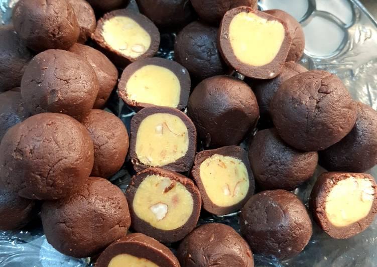 Oreo chocolate balls