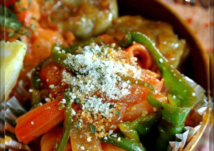 Easy Homemade For Bentos or Breakfast! Ketchup Flavored Crab Stick Stir Fry Recipe