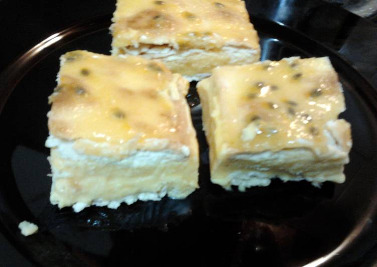 Ladybirds Aussie Vanilla Slice .