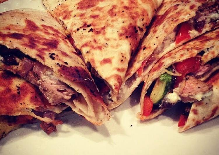 New Secret Roasted Veggie & Balsamic Steak Quesadillas Free Download