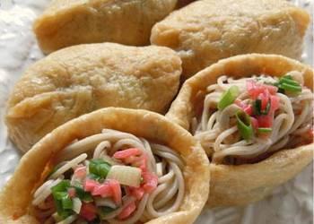 How to Cook Perfect Macrobiotic Soba Inari Sushi