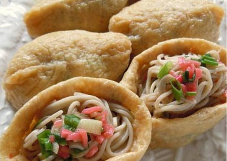 10 Minute Dinner Easy Love Macrobiotic Soba Inari Sushi
