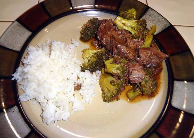 Beef and broccoli crock pot