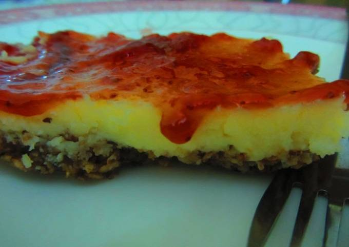 No-cheese cheesecake!