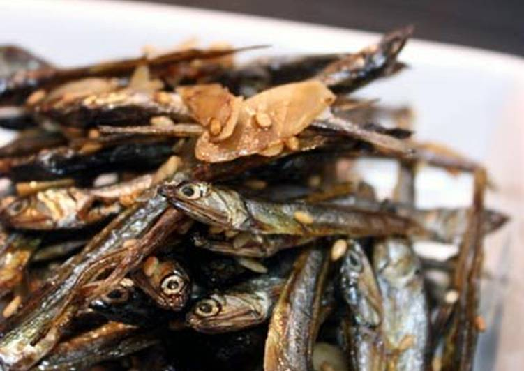 Non-stick Candied Dried Young Anchovies