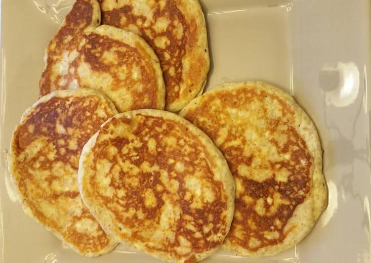 Lower carb pancakes.