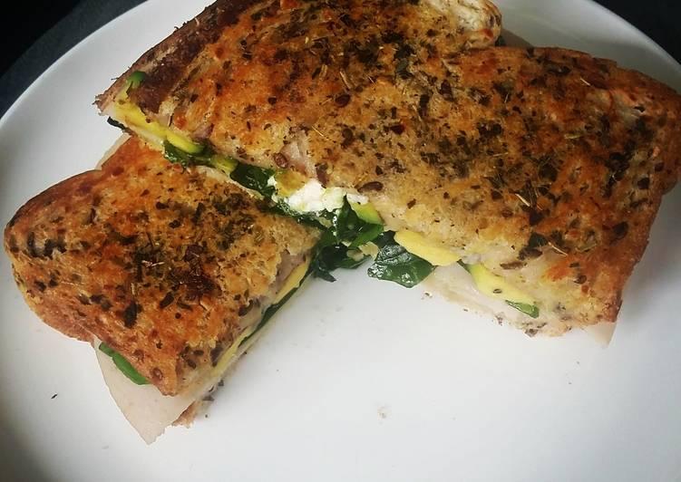 Toasted Turkey Delight - Toast Sandwich