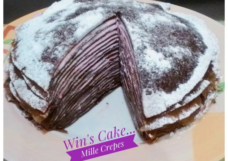 Mille Crepes Coklat