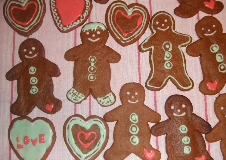 Easiest Way to Cook Perfect Christmas Gingerbread Men