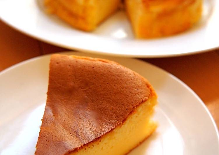 How to Make Ultimate Not Steamed- Easy Pancake Mix Soufflé Cheesecake