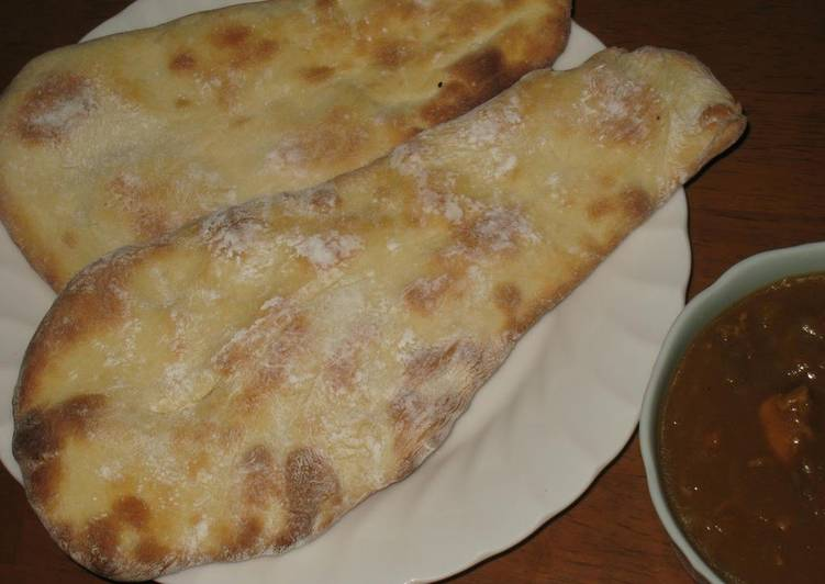 10 Minute Recipe of Quick Naan Bread For Curry