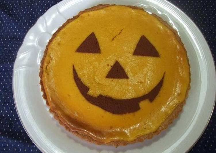 Pumpkin Tart for Halloween