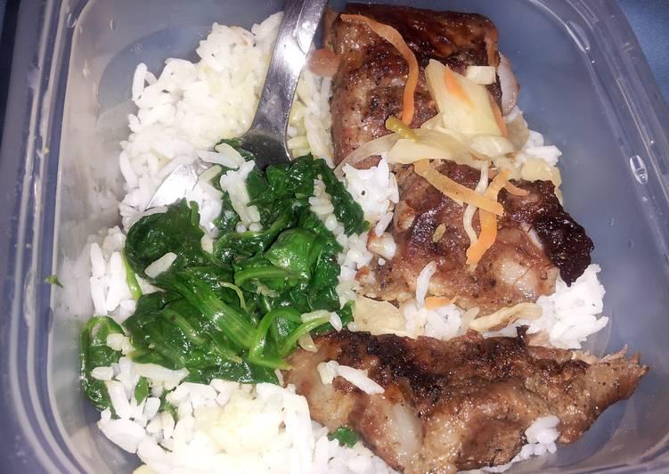 Mojo pork ribs tips