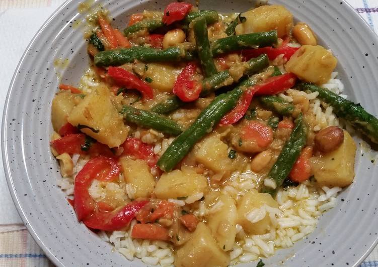 Simple Way to Make Quick Vegetable Curry