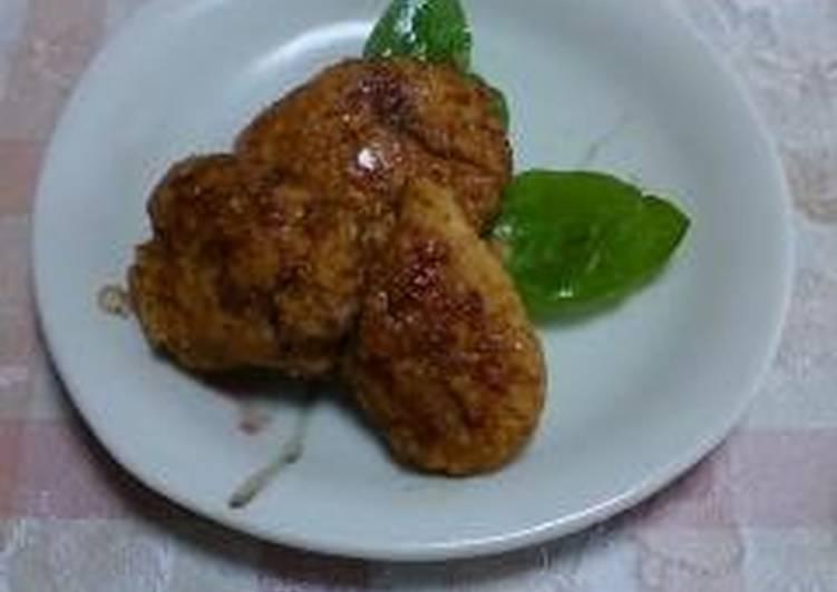 How to Prepare Homemade Chicken Tsukune Patties with Okara