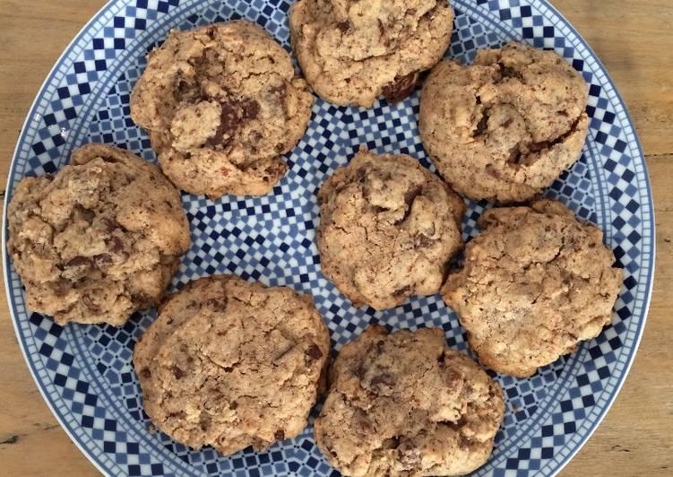 Recette Parfait Cookies moelleux aux pépites de chocolat