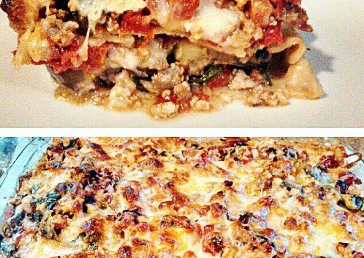 Chicken & Veggie Lasagna