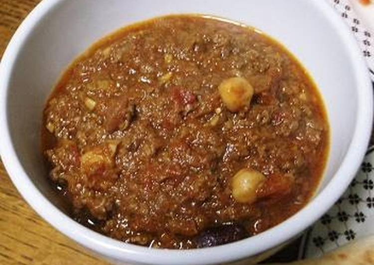 Great with Naan♪ Beef and Bean Curry