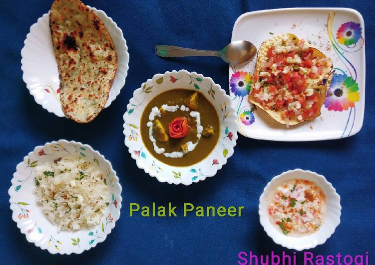 Easiest Way to Make Perfect Restaurant Style Palak Paneer
