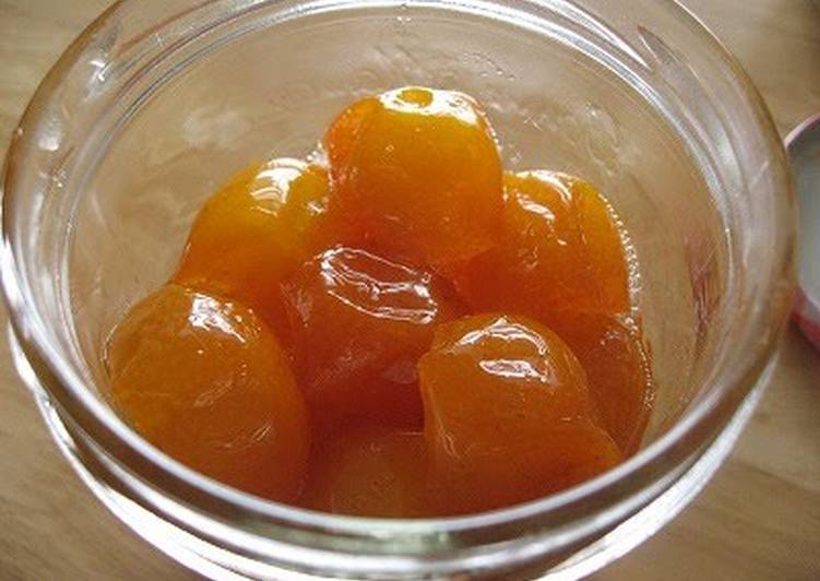 Steps to Make Award-winning Candied Kumquats