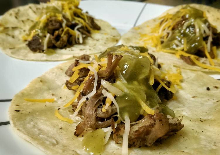 Easiest Way to Cook Delicious Carnitas Tacos