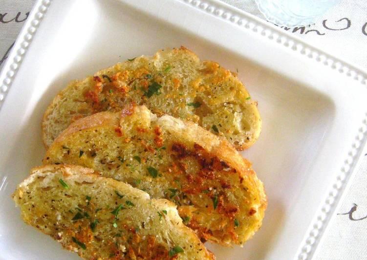 Pan Fried Garlic Toast