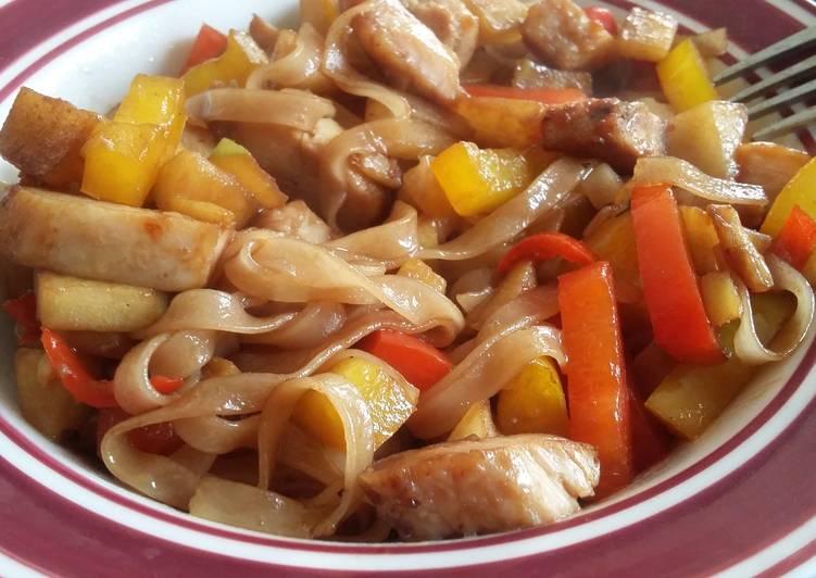 Simple Stir-fry Noodles