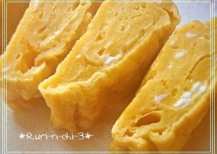 Recipe of Quick Basic Homemade Tamagoyaki for Bento