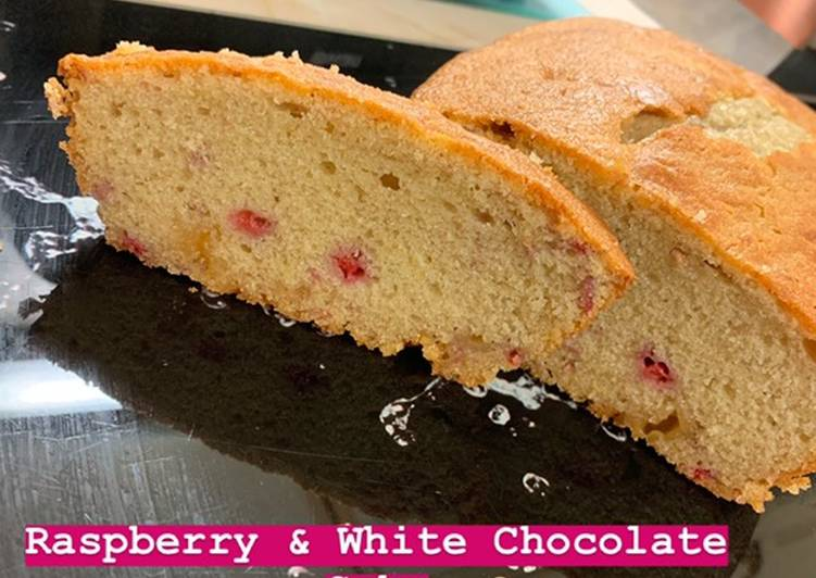 How to Prepare Perfect Raspberry & White Chocolate Cake