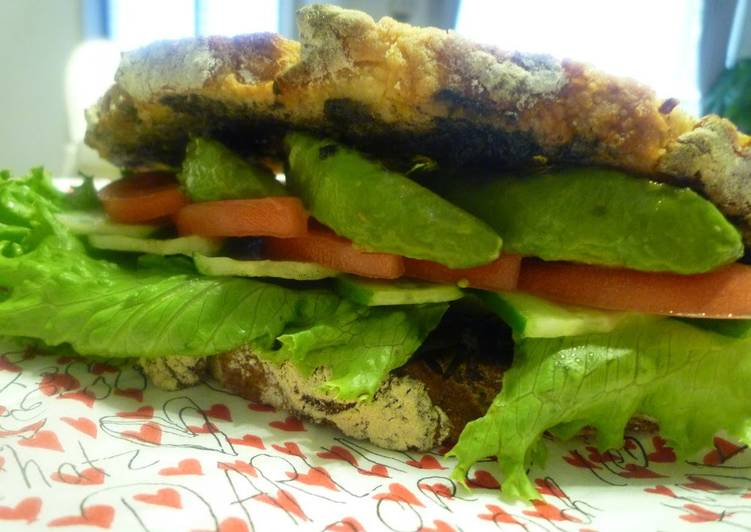 Healthy Avocado & Hijiki Seaweed Sandwich, Some Foods That Are Helpful To Your Heart