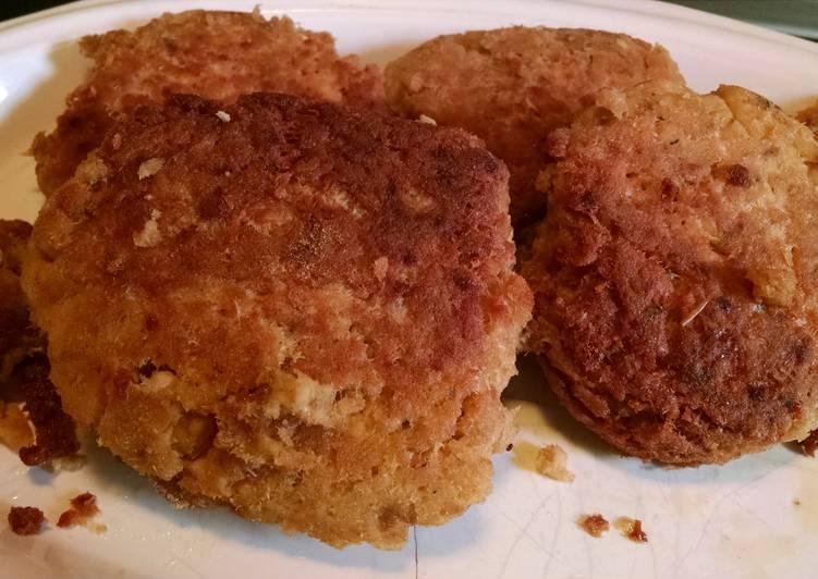 Easiest Way to Cook Perfect George's Crispy Salmon Patties