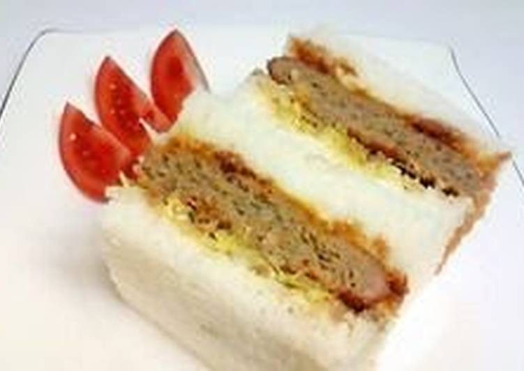 """Non-Fried, Oven-Baked """"Menchi Katsu"""" (Minced Meat Cutlet), Some Foods That Benefit Your Heart"""