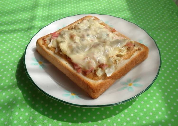 Best Comfort Dinner Easy Cooking Yakisoba Flavored Toast