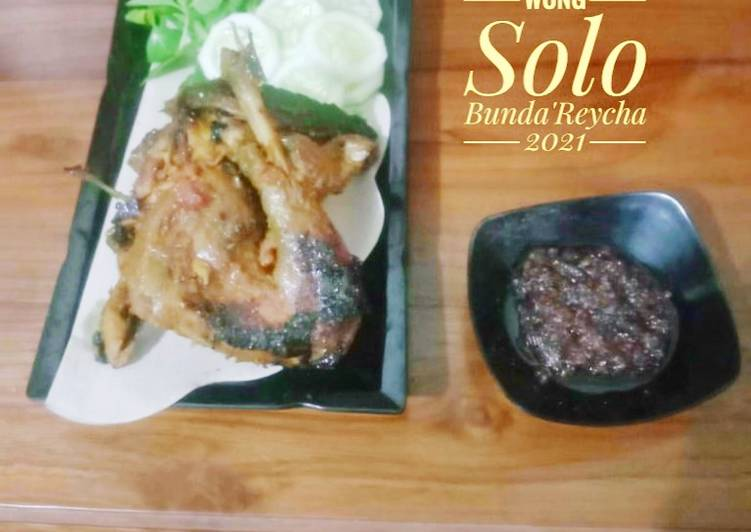 🍗 Ayam Bakar Wong Solo Ala Chef Supri
