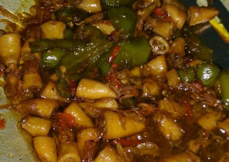 Resep Cumi asin masak kecap oleh Syifa Nurul Fathia - Cookpad