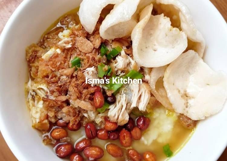 Resep Bubur Ayam #week 20 Anti Gagal