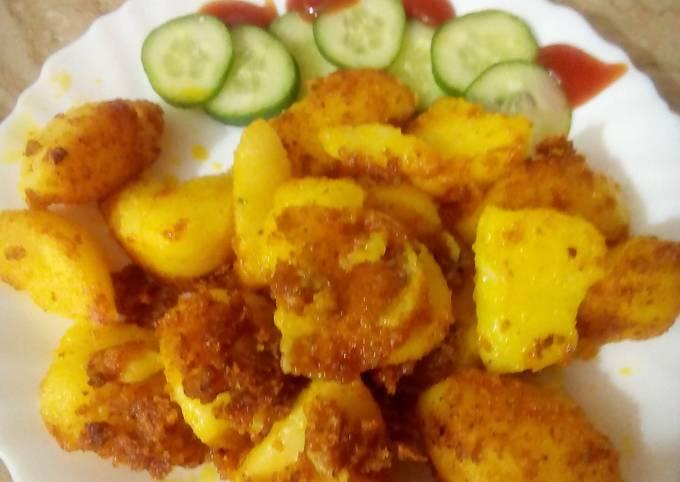 Spicy Crunchy Potatoes by Nancy