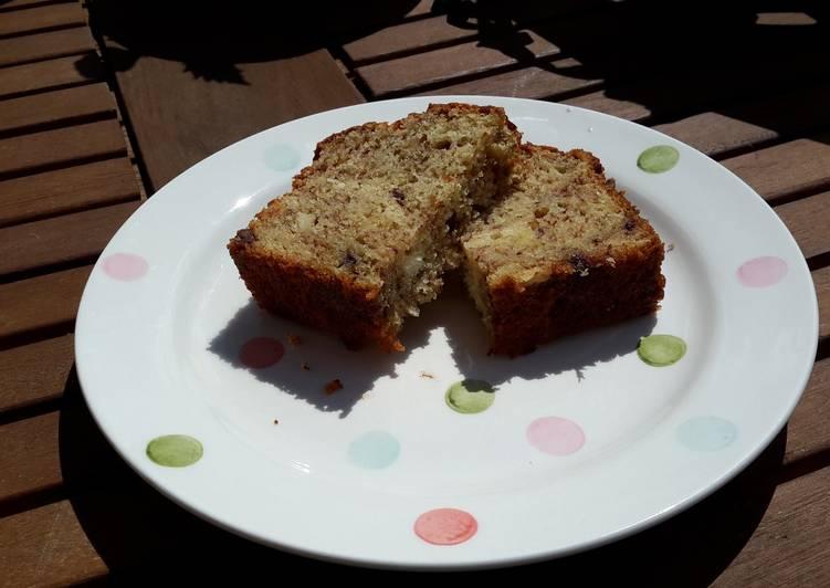 Gluten Free Chocolate Banana Loaf Cake