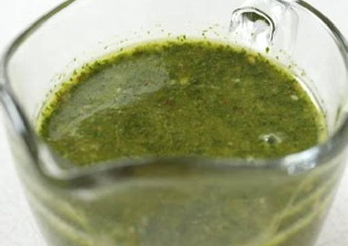 Recipe: Perfect Chimichurri Sauce