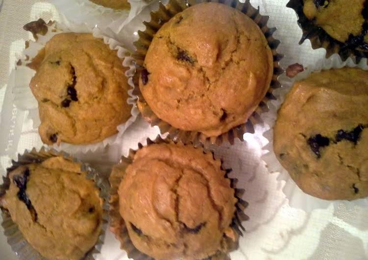 10 Minute Dinner Ideas Homemade pumpkin chocolate chip muffins