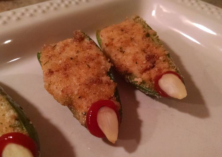 The Best Way to Make Delicious Jalapeño Popper Witch Fingers