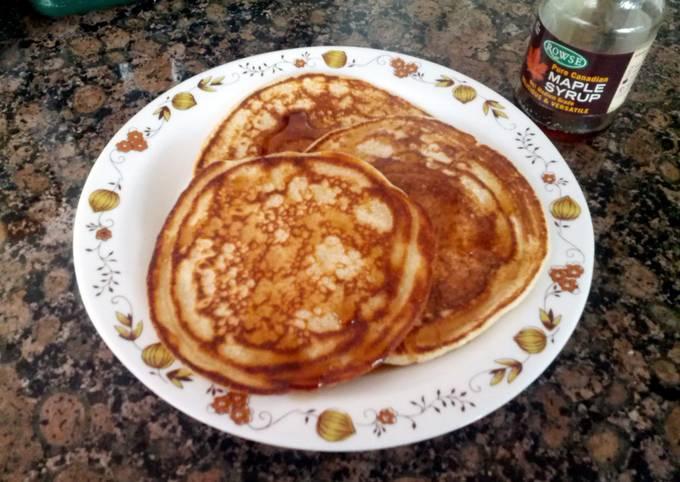 American Style Breakfast Pancakes