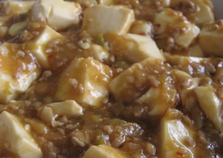 Very Simple Mapo Tofu