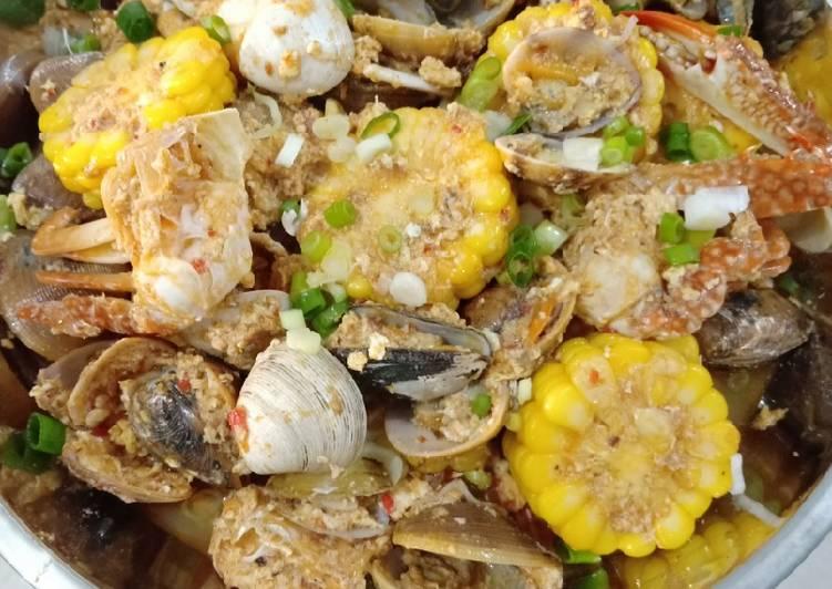 Chili crab saus padang ala qingkitchen