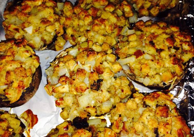 Stuffed Portabella Mushrooms