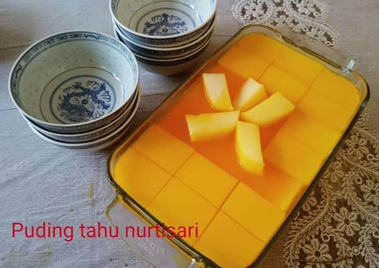 Puding Tahu Nutrisari