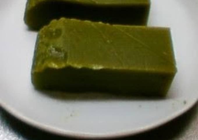 Microwave Easy! Matcha Green Tea Uiro Steamed Cake