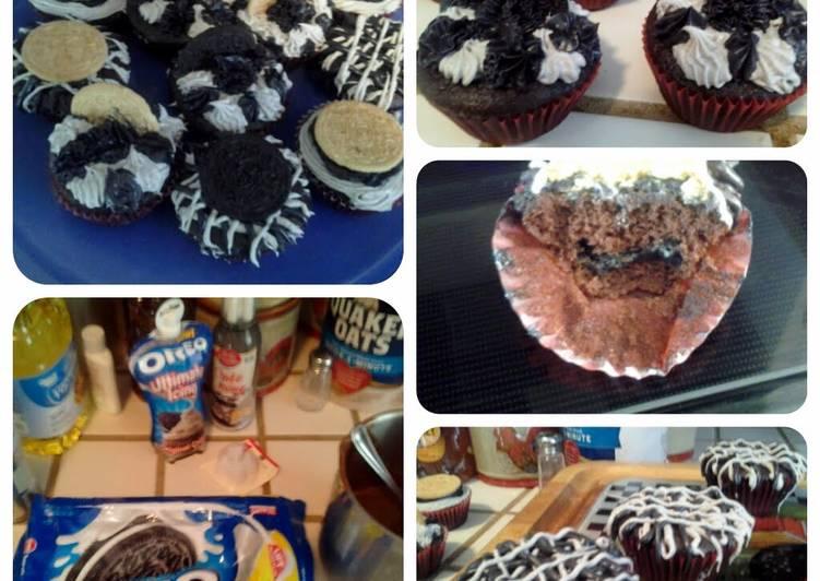 Recipe of Perfect Easy Oreo cupcakes